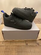 Nike Air Force 1 Experimental Black Cv1754-001 Size 8.5 In Hand / Authentic]