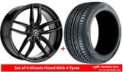 Alloy Wheels And Tyres 20 Fox Iota For Mitsubishi Eclipse Cross 17-20