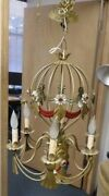 Circa 1940and039s Vintage French Hot Air Balloon Chandelier - 7 Light