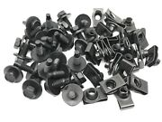 25pcs Black Fender Bolts And Short Nuts 5/16-18 X 15/16 Fits Dodge Plymouth