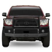 For Toyota Tacoma 05-11 Bumper Heavy Duty Series Full Width Matte Black Front