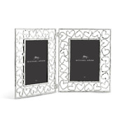 Michael Aram Heart Hinged Picture Frame 5 X 7 Photo 132277