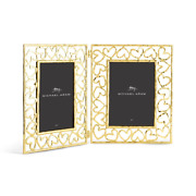 Michael Aram Heart Hinged Gold Picture Frame 5 X 7 Photo 132278