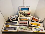 Ho Scale Train Set Mixed Lot 6 Carstrackssignspower Pack As Is For Parts