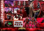Hot Toys 1/6 Vgm35 Marvel Contest Of Champions Venompool Figure Toy In Stock