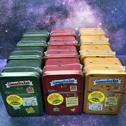 Lot X12 New Sealed 2021 Topps Garbage Pail Kids Food Fight Collector Tins