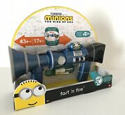 Despicable Me Minions The Rise Of Gru Fart 'n Fire Blaster Toy Gun New