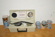 Vintage Dymo Deluxe Tapewriter Kit 1570 W/ Box Wheels And 26 Rolls Lot