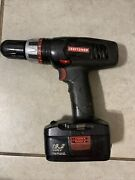 Craftsman 1/2 In.13mm Power Drill/driver With Battery And Charger