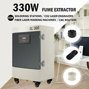 330w 5 Stage Filter Fume Extractor With Remote Control For Soldering Station Andc