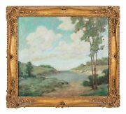 Museum Quality Impressionist Landscape Painting From Important Collector