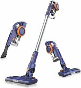 Cordless Vacuum Hurricane Suction,cleans1937.50sqft Hepa Filter, Light Weight