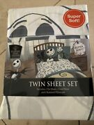 New, The Nightmare Before Christmas Sheet Set Twin - Super Soft And Cute