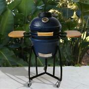 Charcoal Grill Smoker Electric Starter Grill Cover 133 Sq Inch Cooking Surface