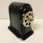 Vintage Boston 55 Ranger Pencil Sharpener 8 Holes Black