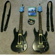 Guitar Hero Live Bundle Microsoft Xbox One Game 2 Guitars And 2 Dongles And 2 Straps