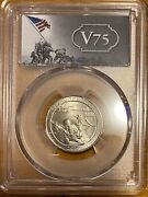 2019 W Guam War In Pacific Np Wwii V75 Anniversary Label Pcgs Gold Shield Ms65