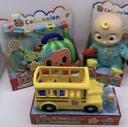Cocomelon Bundle Jj Toy Check Up And Wheels On Bus