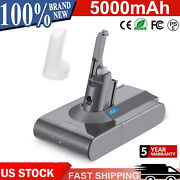 21.6v 5.0ah Battery For Dyson V8 Animal Absolute Fluffy Handheld Vacuum Cleaners