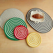 Creative Coasters Skid Resistance Round Tea Coffee Cup Pat For Kitchen Usefu