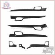 Dashboard Panel And Door Handle Cover Trim For Jeep Grand Cherokee 2011-2020