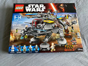 Lego Star Wars Captain Rexand039s At-te 75157 New Open Box Sealed Bags