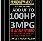 1 Tuner Performance Chip For Gmc Vehicles Save Gas/fuel Add Power Real Gains