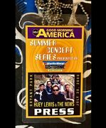 Huey Lewis And The News - Good Morning America - Bryant Park - July 28, 2006