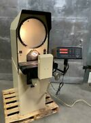 """Micro Vu Model H 14 Optical Comparator With Xy Digital Read Out 14"""""""