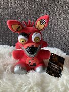 Five Nights At Freddys Plush Nightmare Foxy. Authentic Walmart 2015 With Tags