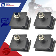 For Yamaha New Rhino 660 Bottom And Top Engine Mount Rubber Damper Kit 2004-2007