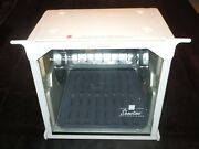 Showtime Rotisserie And Bbq White Model 4000 W/ Steamerbasketkabob Rods And More