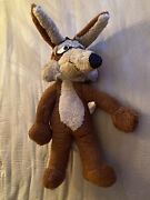 Warner Brothers Wb Mighty Star 17andrdquo Wile E. Coyote Plush Vintage 1971 Stuffed