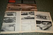 ★1966 Dodge Charger Original First Look Road Test Article 66 383 426 Hemi