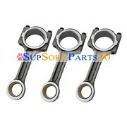 New 3 Pieces Connecting Rods For Kubota D782 Engine Us