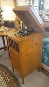 Edison Amberola Phonograph Cylinder Record Player Model 50 Or 75 Working Great