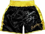Sylvester Stallone Rocky Balboa Autographed Rocky Ii Boxing Trunks Asi Proof