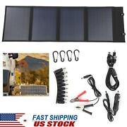 Outdoor Battery Powered Solar Panel Dc18v 23‑ 24 Conversion W/ Controller Cable