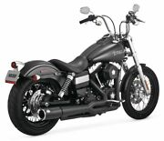 Vance And Hines Pro Pipe Exhaust For Harley-davidson Fxd 2012-2017 4.5 Black