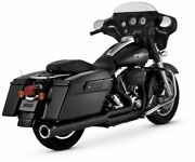 Vance And Hines Pro Pipe Exhaust For Harley-davidson Flh, Flt 1999-2008 4.5 Black