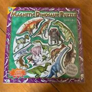 Magnetic Dinosaur Puzzle With Poster By The Orb Factory