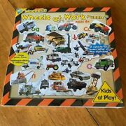 Wheels At Work Magnetic Puzzle With Poster By Orb Factory New