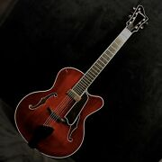 Eastman 810ce 7 Custom Carved 7 String Archtop Guitar