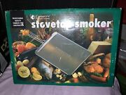 Camerons Stovetop Stainless Steel Smoker Professional Brand New
