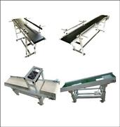 Updated Hot Sale 110v Various Sizes Width And Length Belt Conveyor System Us Stock