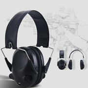 Folding Electronic Ear Muffs Hearing Noise Protection Hunting Shooting Headset
