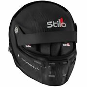 Stilo St5 Gtn Carbon Fia And Snell Approved Race Helmet With Fhr Posts