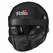 Stilo St5 R Carbon Fia And Snell Approved Rally Helmet With Fhr Posts