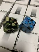 Lot Of 50 Green/blue Mixed Camo Fidget Cube For Anxiety Stress Relief Autism Usa