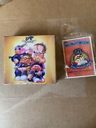 2021 Topps Garbage Pail Kids Gpk Collectors Club Set 1 Trash Can-didates